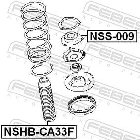 NSS009 Fjäderbens-stödlager FEBEST NSS-009 Stor urvalssektion — enorma rabatter