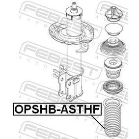 OPSHBASTHF Schutzkappe / Faltenbalg, Stoßdämpfer FEBEST OPSHB-ASTHF - Große Auswahl - stark reduziert