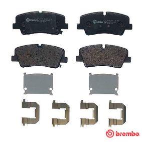 P30089 Bremsbelagsatz, Scheibenbremse BREMBO 22419 - Große Auswahl - stark reduziert