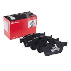 D18619090 BREMBO für Verschleißwarnanzeiger vorbereitet, mit Kolbenclip Höhe: 77,5mm, Breite: 180,1mm, Dicke/Stärke: 18,4mm Bremsbelagsatz, Scheibenbremse P 36 031 günstig kaufen