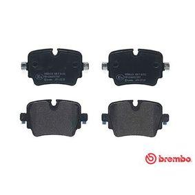 P36032 Bremsbelagsatz, Scheibenbremse BREMBO 25585 - Große Auswahl - stark reduziert