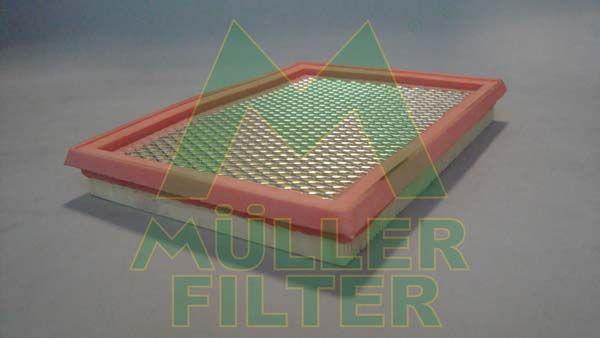 NISSAN ROGUE 2008 Kfz-Filter - Original MULLER FILTER PA122 Länge: 228mm, Länge: 228mm, Breite: 168mm, Höhe: 30mm