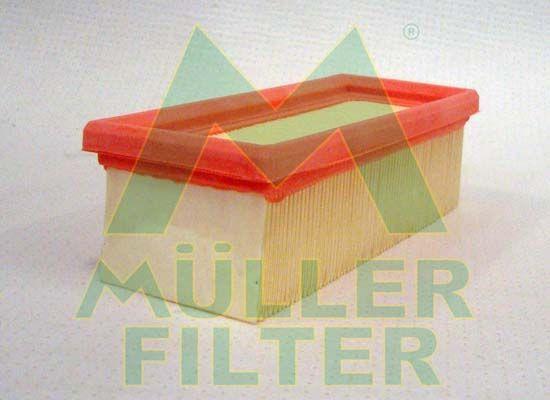RENAULT TWINGO 2016 Luftfilter - Original MULLER FILTER PA739 Länge: 187mm, Länge: 187mm, Breite: 77mm, Höhe: 56mm
