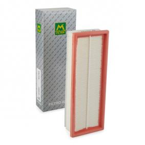 PA759 MULLER FILTER Filtereinsatz Länge: 315mm, Breite: 111mm, Höhe: 59mm Luftfilter PA759 günstig kaufen