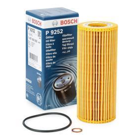 P9252 BOSCH Filtereinsatz Ø: 63,5mm, Höhe: 153mm Ölfilter 1 457 429 252 günstig kaufen