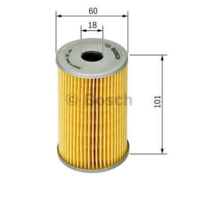1 457 429 820 Filtro idraulico, Sterzo BOSCH prodotti di marca a buon mercato