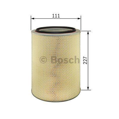 1 457 429 838 Luftfilter BOSCH - Markenprodukte billig