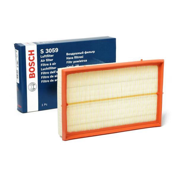 Achetez Filtre BOSCH 1 457 433 059 (Longueur: 288mm, Longueur: 288mm, Largeur: 188mm, Hauteur: 42,5mm) à un rapport qualité-prix exceptionnel