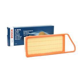 Kupi S3076 BOSCH Vlozek filtra Dolzina: 382mm, Sirina: 140mm, Visina: 49mm Zracni filter 1 457 433 076 poceni
