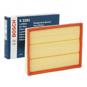 Kupi S3281 BOSCH Vlozek filtra Dolzina: 294mm, Sirina: 234mm, Visina: 42mm Zracni filter 1 457 433 281 poceni