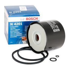 N4201 BOSCH Opschroeffilter, Filter insert Hoogte: 71,8mm Brandstoffilter 1 457 434 201 koop goedkoop