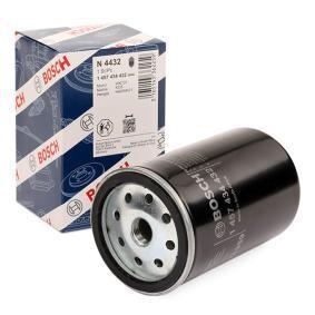 N4432 BOSCH Anschraubfilter Höhe: 125mm Kraftstofffilter 1 457 434 432 günstig kaufen