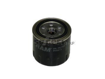 Hyundai TIBURON 2004 Oil filter FRAM PH6811: Screw-on Filter