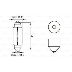 1987302210 Glühlampe, Kennzeichenleuchte BOSCH K15772 - Große Auswahl - stark reduziert