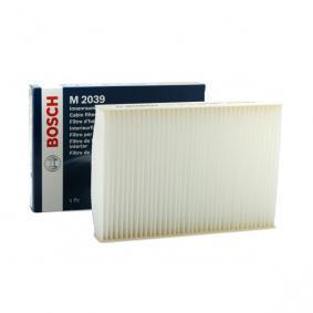 Filtr, vzduch v interiéru 1 987 432 039 pro RENAULT Symbol ve slevě – kupujte ihned!