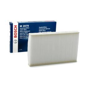 Filtr, vzduch v interiéru 1 987 432 079 pro CITROËN C3 I (FC_) — využijte skvělou nabídku ihned!
