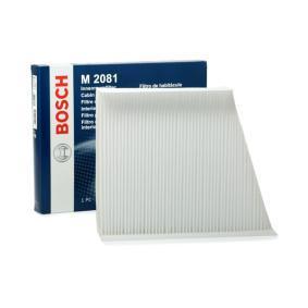 Filtr, vzduch v interiéru 1 987 432 081 pro MERCEDES-BENZ Stufenheck ve slevě – kupujte ihned!