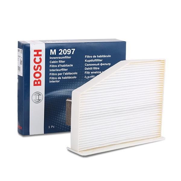 Köp BOSCH 1 987 432 097 - Värme / ventilation till Volkswagen: Partikelfilter B: 271,8mm, H: 33,5mm, L: 210,8mm