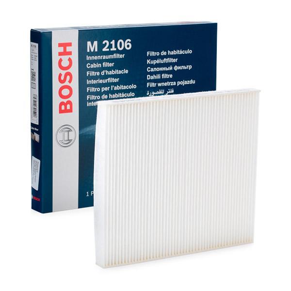 BOSCH: Original Pollenfilter 1 987 432 106 (Breite: 177,5mm, Höhe: 17mm, Länge: 203mm)