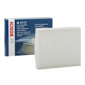 Filter, kupéventilation 1 987 432 113 VOLVO C70 till rabatterat pris — köp nu!