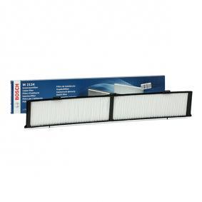 M2124 BOSCH Partikelfilter Breite: 123mm, Höhe: 20mm, Länge: 810mm Filter, Innenraumluft 1 987 432 124 günstig kaufen