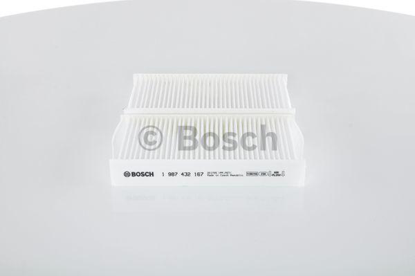 M2167 BOSCH Partikelfilter Breite: 93mm, Höhe: 28mm, Länge: 181mm Filter, Innenraumluft 1 987 432 167 günstig kaufen