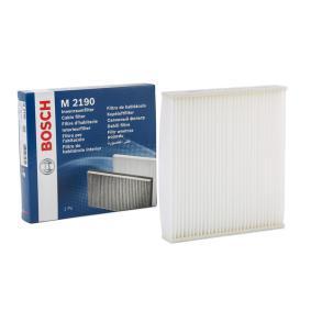 Filter, Innenraumluft BOSCH 1 987 432 190 günstige Verschleißteile kaufen