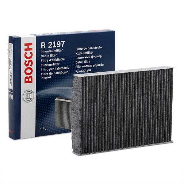 Achetez Filtre à pollen BOSCH 1 987 432 197 (Largeur: 160mm, Hauteur: 30mm, Longueur: 230mm) à un rapport qualité-prix exceptionnel