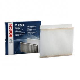 Filter, Innenraumluft BOSCH 1 987 432 203 günstige Verschleißteile kaufen