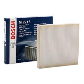 Filter vnútorného priestoru 1 987 432 216 MITSUBISHI L 200 v zľave – kupujte hneď!