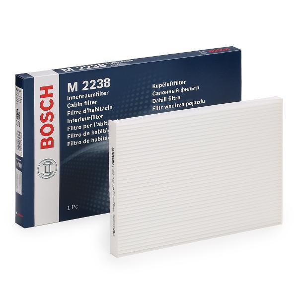 NISSAN ROGUE 2011 Kfz-Filter - Original BOSCH 1 987 432 238 Breite: 265mm, Höhe: 20,4mm, Länge: 190mm