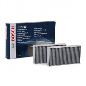 Filtr, vzduch v interiéru 1 987 432 309 pro MERCEDES-BENZ GL ve slevě – kupujte ihned!