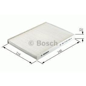 espacio interior aire 1 987 432 357 Bosch filtro