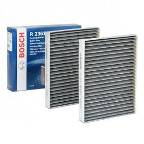 Filter, zrak notranjega prostora 1 987 432 361 za BMW 5 (E39) - prihrani več zdaj!