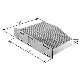 Bosch interior filtro de carbón activado audi a4 b8//a5//q5//Porsche Macan r2369