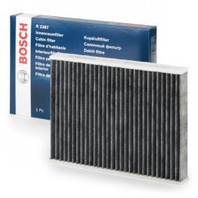 Filter, Innenraumluft 1 987 432 387 FORD FUSION Niedrige Preise - Jetzt kaufen!
