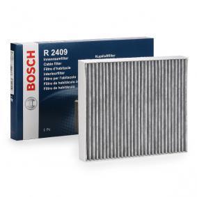 филтър, въздух за вътрешно пространство 1 987 432 409 за FORD S-MAX на ниска цена — купете сега!