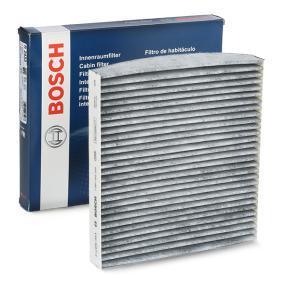 R2433 BOSCH Aktivkohlefilter Breite: 200mm, Höhe: 30mm, Länge: 217,5mm Filter, Innenraumluft 1 987 432 433 günstig kaufen