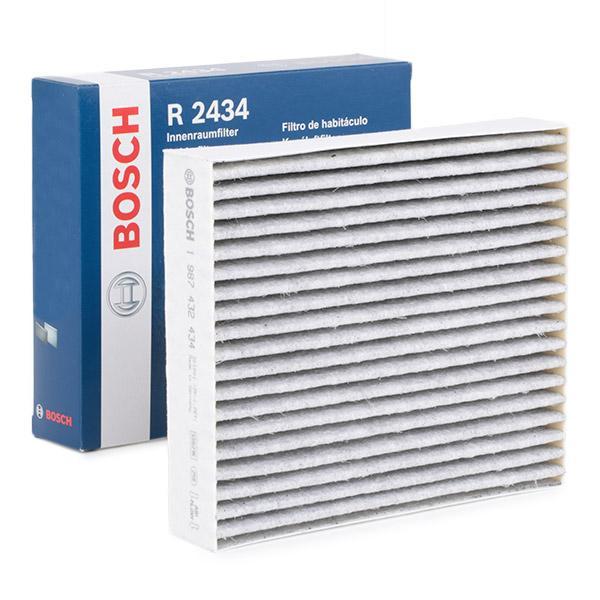BOSCH: Original Kabinenluftfilter 1 987 432 434 (Breite: 178mm, Höhe: 40mm, Länge: 203mm)