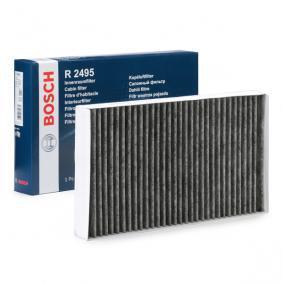 Filtro, aire habitáculo 1 987 432 495 MERCEDES-BENZ VITO a un precio bajo, ¡comprar ahora!