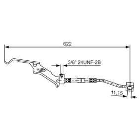 buy and replace Brake Hose BOSCH 1 987 476 085