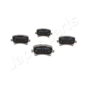 PP-0007AF JAPANPARTS Hinterachse Breite: 55,5mm, Dicke/Stärke: 16,9mm Bremsbelagsatz, Scheibenbremse PP-0007AF günstig kaufen