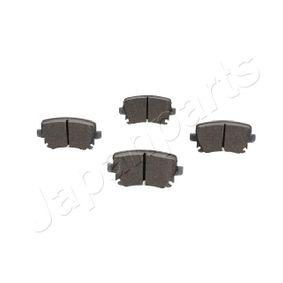 PP0007AF Bremsbelagsatz, Scheibenbremse JAPANPARTS PP-0007AF - Große Auswahl - stark reduziert