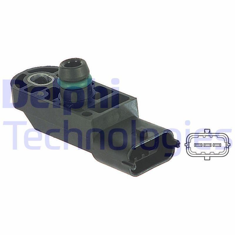 PS10130 Luftdrucksensor, Höhenanpassung DELPHI PS10130 - Große Auswahl - stark reduziert
