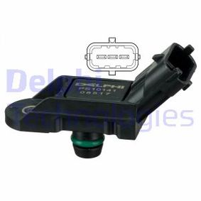PS10141 DELPHI Sensor, Ladedruck PS10141 günstig kaufen