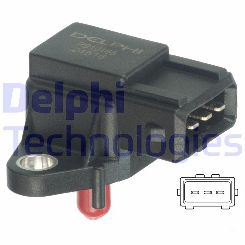 PS10165 DELPHI Sensor, Saugrohrdruck PS10165 günstig kaufen
