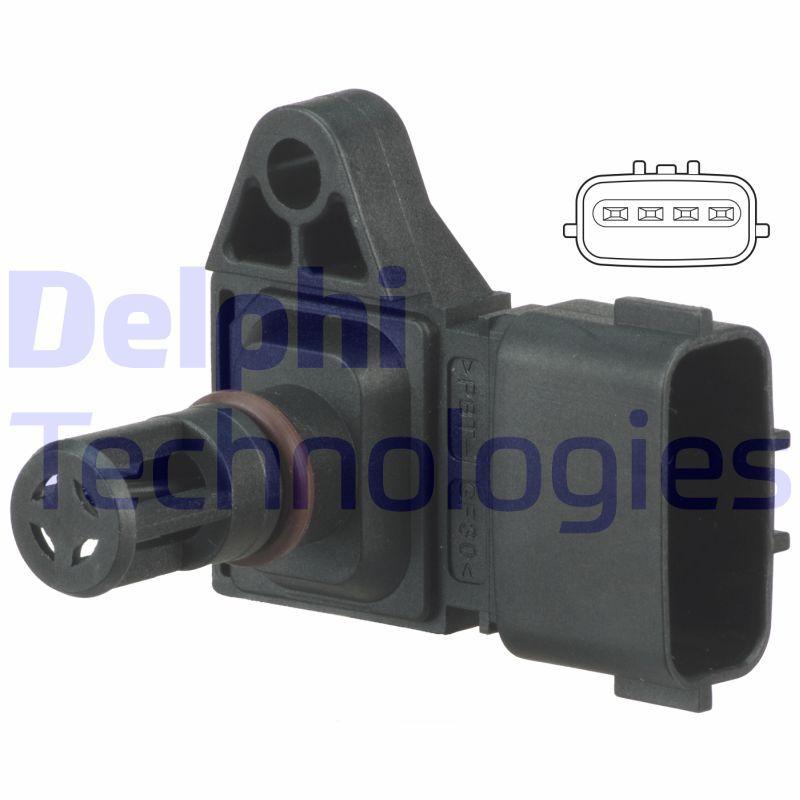 Original NISSAN Sensor, Saugrohrdruck PS10189