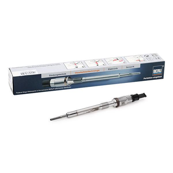 Achetez Bougie de préchauffage BERU PSG007 (Filetage: M10x1,0) à un rapport qualité-prix exceptionnel