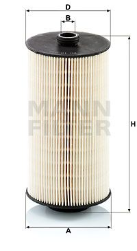 PU 10 013 z MANN-FILTER Fuel filter for IVECO S-WAY - buy now