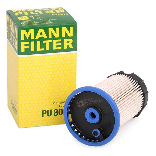 pu 8015 Filtro de combustible nuevo Mann-Filter